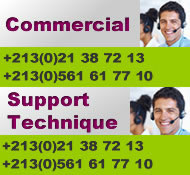 contact hebergement web en Algerie